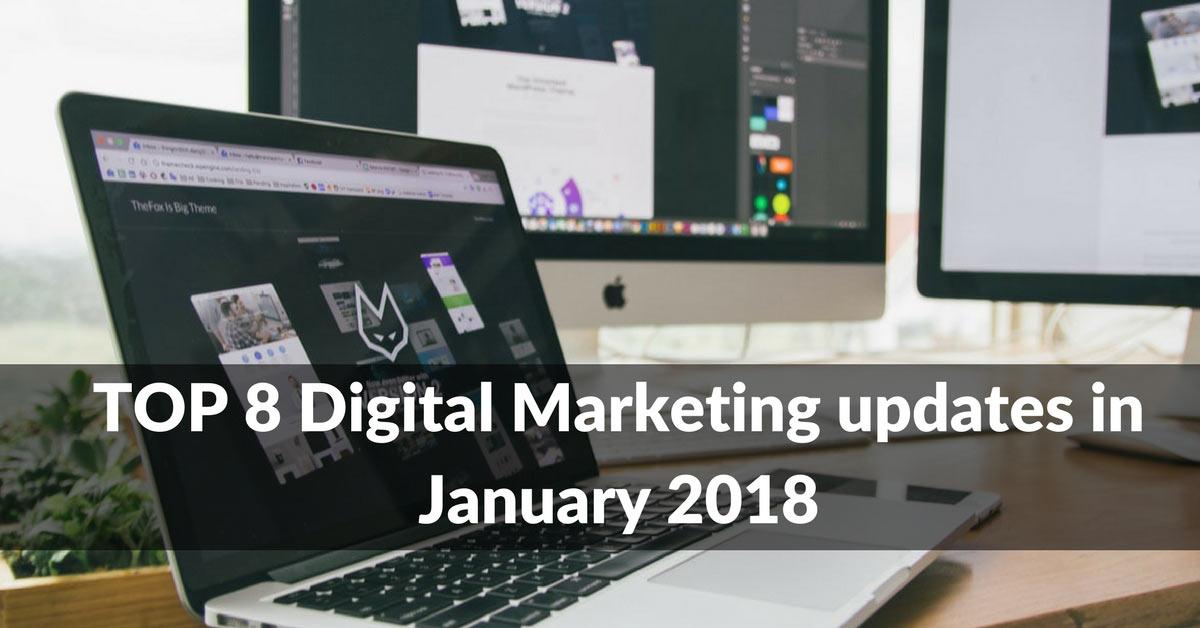 January 2018 updates