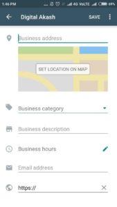 WhatsAps Business step1