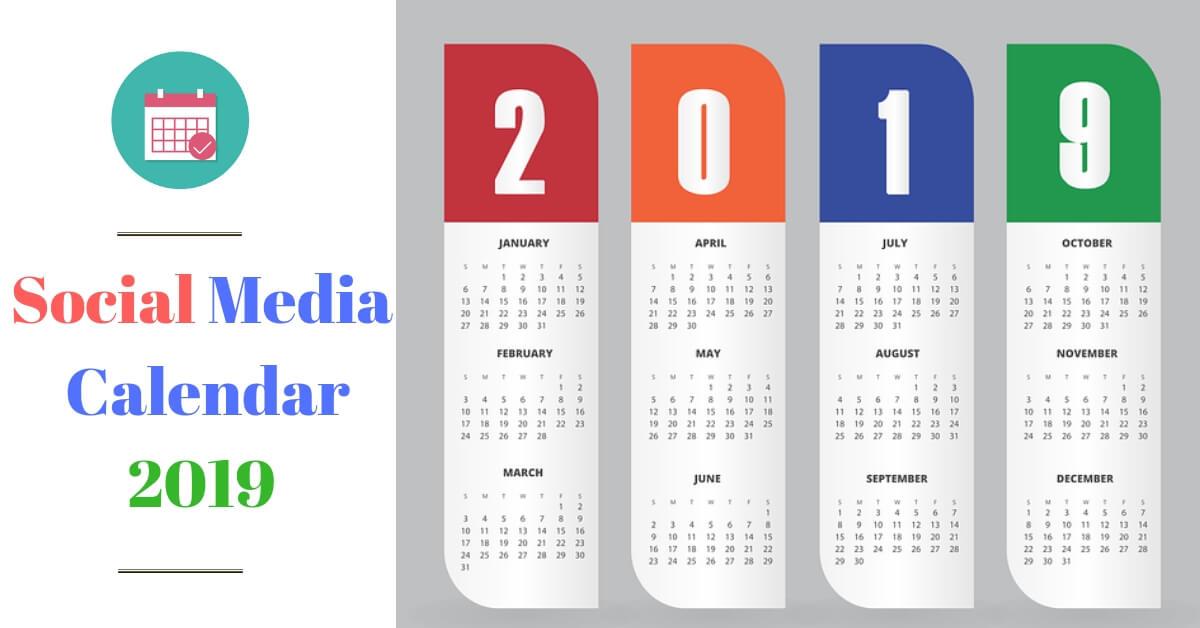 Social Meida Calendar