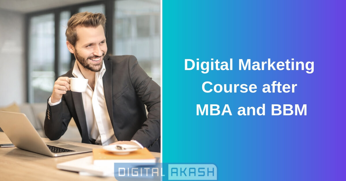 Digital Marketing Training after mba