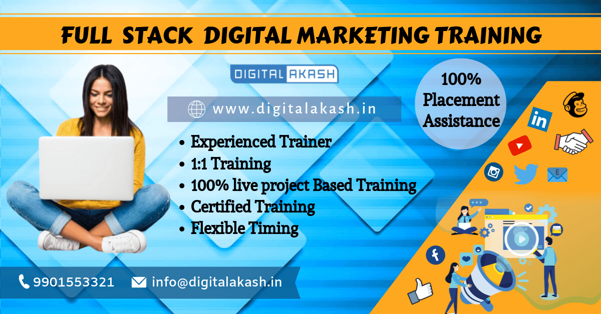 Full Stack Digital Marketing Training