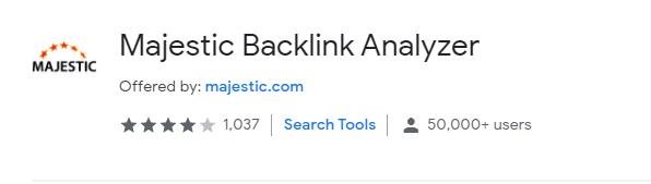 Mejestic backlink analyzer