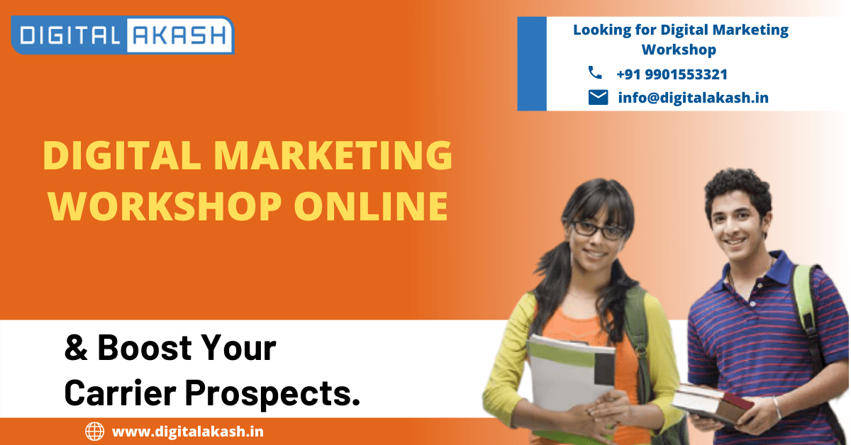 Online Digital Marketing Workshop for Beginners